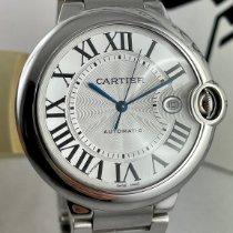 Cartier Сталь Автоподзавод Cеребро Римские 42mm подержанные Ballon Bleu 42mm