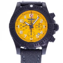 Breitling Automatic Yellow 45mm pre-owned Avenger Hurricane
