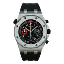 Audemars Piguet Royal Oak Offshore usados 43mm Negro Cronógrafo Caucho