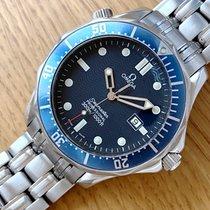 Omega Seamaster Diver 300 M usados 41mm Azul Fecha Acero