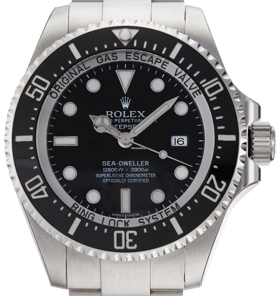 Rolex Sea-Dweller Deepsea 116660 2012 nov