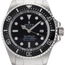 Rolex Sea-Dweller Deepsea Steel 44mm Black No numerals United Kingdom, London