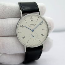 NOMOS pre-owned Manual winding White Sapphire crystal 3 ATM