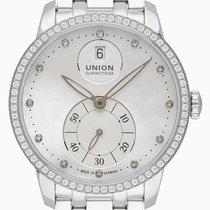 Union Glashütte Seris Steel 36mm Mother of pearl