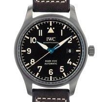 IWC Pilot Mark Steel 40mm Black