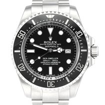Rolex Sea-Dweller Deepsea Steel 44mm Black No numerals United Kingdom, Manchester