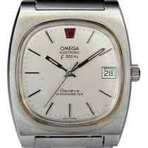 Omega Genève Ocel Stříbrná