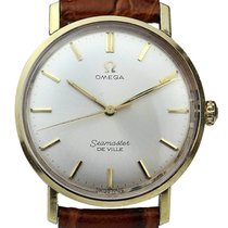 Omega Seamaster DeVille Gold/Steel 34.5mm White United Kingdom, Tunbridge Wells