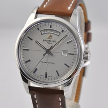 Breitling Transocean Day & Date Steel 43mm White No numerals United States of America, Ohio, Mason