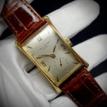 Patek Philippe Hour Glass Yellow gold 41mm Silver Arabic numerals
