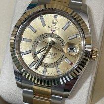 Rolex Sky-Dweller 326933 Nuevo Acero y oro 42mm Automático