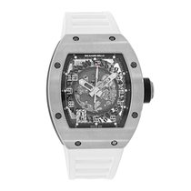 Richard Mille RM 010 White gold 39mm Transparent Arabic numerals United States of America, New York, New York