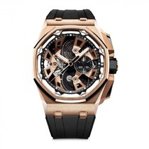 Audemars Piguet Royal Oak Offshore Tourbillon Chronograph 26421OR.OO.A002CA.01 Unworn Rose gold 45mm Manual winding