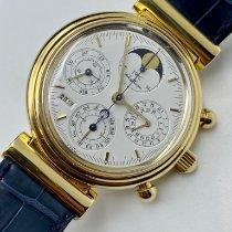 IWC IW3750 Gulguld Da Vinci Perpetual Calendar 39mm begagnad