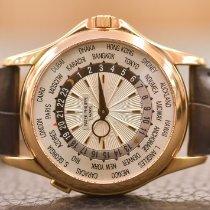 Patek Philippe World Time Oro rosa 39.5mm Argento Senza numeri Italia, padova