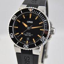 Oris Aquis Date Steel 43.5mm Black No numerals United States of America, Ohio, Mason