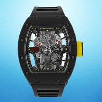 Richard Mille RM 035 RM35 Mai indossato Carbonio 49.94mm Automatico
