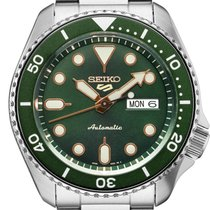 Seiko 5 Sports Steel 42.5mm Green United States of America, Connecticut, Colcester
