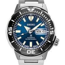 Seiko Prospex Steel 42.4mm Blue