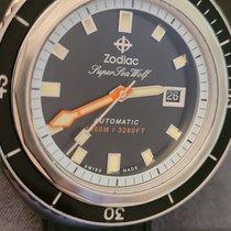 Zodiac Sea Wolf Steel 50mm Black