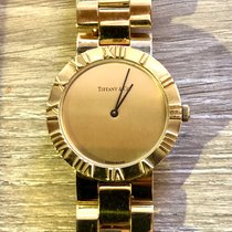 Tiffany Atlas Yellow gold 30.1625mm Gold Roman numerals United States of America, Oregon, Bend
