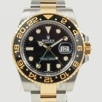 Rolex GMT-Master II Gold/Steel 40mm Black No numerals United States of America, California, Newport Beach, Orange County, CA