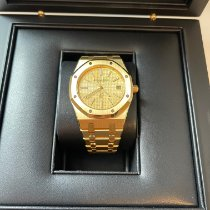 Audemars Piguet Royal Oak Jumbo Yellow gold 39mm Gold United States of America, Michigan, westland