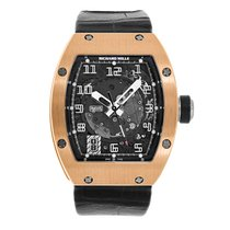 Richard Mille RM 005 Rose gold 38mm Transparent Arabic numerals United States of America, New York, New York