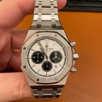 Audemars Piguet Royal Oak Chronograph Steel 41mm Silver No numerals United States of America, Florida