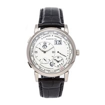 A. Lange & Söhne White gold Manual winding Silver 41.9mm pre-owned Lange 1