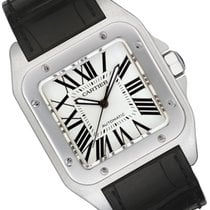 Cartier Santos 100 new Automatic Watch with original box and original papers W20076X8