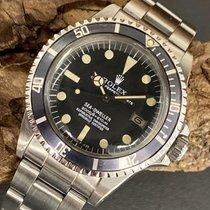 Rolex Sea-Dweller подержанные 40mm Черный Дата Сталь