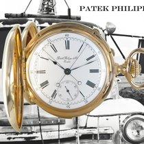 Patek Philippe Uhr gebraucht 1887 Gelbgold 54mm Römisch Handaufzug Nur Uhr