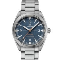 Omega Seamaster Railmaster Steel 40mm Blue Arabic numerals United States of America, New Jersey, River Edge