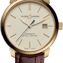 Ulysse Nardin San Marco Rose gold 40mm Champagne No numerals United States of America, New Jersey, River Edge