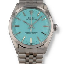 Rolex Air King Precision Steel 34mm Blue United States of America, New Hampshire, Nashua