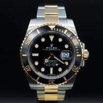 Rolex Submariner Date 116613LN Очень хорошее Золото/Cталь 40mm Автоподзавод
