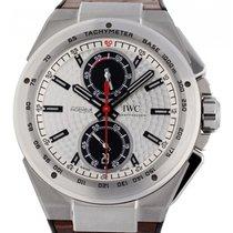 IWC Ingenieur Chronograph Stahl 45mm Silber Arabisch