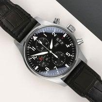 IWC Pilot Chronograph IW377701 Odlično Zeljezo 43mm Automatika