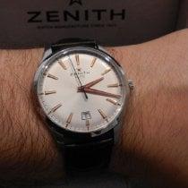 Zenith Captain Central Second Acier 40mm Argent Sans chiffres France, Nice