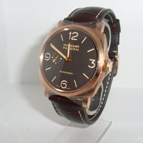 Panerai Rose gold Automatic Brown Arabic numerals 45mm new Radiomir 1940 3 Days Automatic
