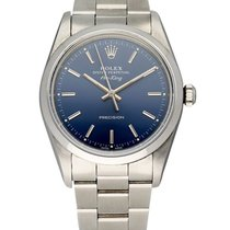 Rolex Air King Precision Steel 34mm Blue United States of America, New York, New York