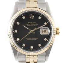 Rolex 16233 Zlato/Ocel 1997 Datejust 36mm použité