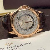 Patek Philippe World Time Pозовое золото 39.5mm Cеребро Без цифр