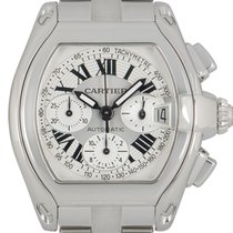 Cartier Roadster W62019X6 Meget god Stål 42.8mm Automatisk