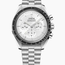 Omega White gold Automatic Silver 42mmmm new Speedmaster Professional Moonwatch