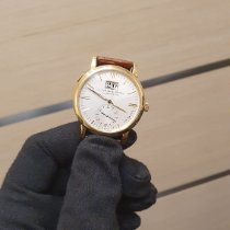 A. Lange & Söhne Yellow gold Automatic Silver 37mm pre-owned Langematik