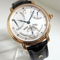 Maurice Lacroix Rotgold Silber 43mm gebraucht