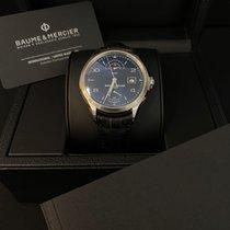 Baume & Mercier Clifton Steel 43mm Blue Arabic numerals