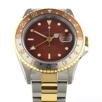 Rolex GMT-Master II Gold/Stahl 40mm